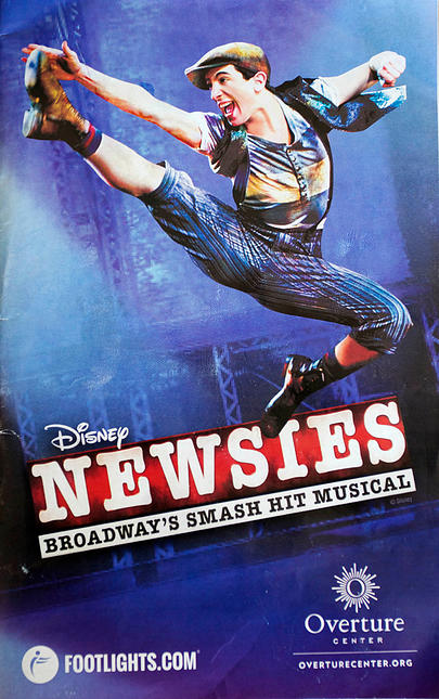 Newsies The Musical - Poster