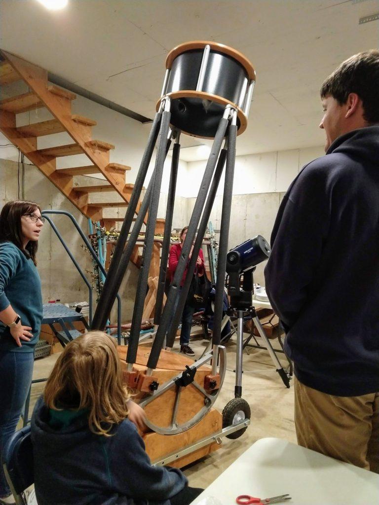 build Dobsonian Telescope
